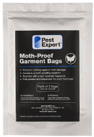 Pest Expert Moth Proof Garment Bags (Pack of 3)